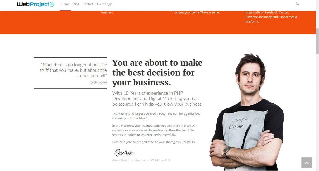 Effective Local Marketing Ideas WebProjectUK